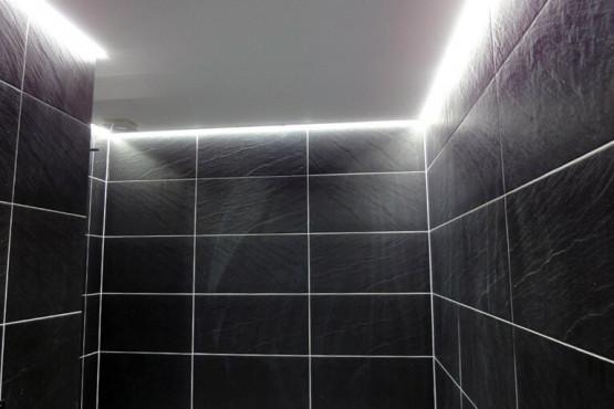 Rekonstrukce garsoniéry - Koupelna po