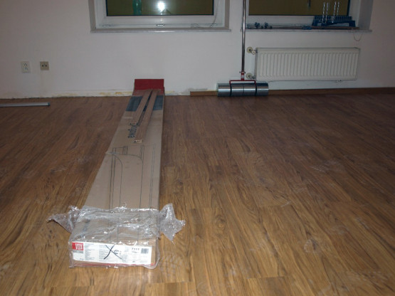 Pokládka nových podlah