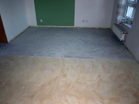 Vyrovnané podlahy